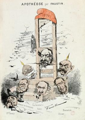 Caricature of Napoleon III