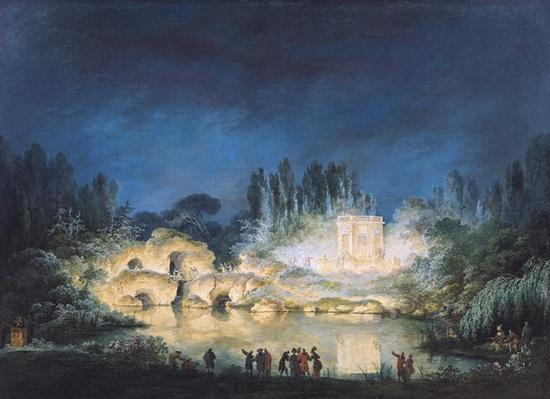 Illumination of the Belvedere at the Petit-Trianon, 1781