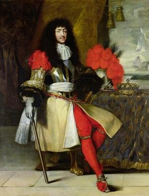 Seated Portrait of Louis XIV