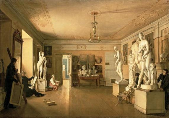 Atelier of the artist Alexey Venetsianov