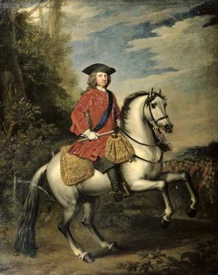 Portrait of King George I, 1717