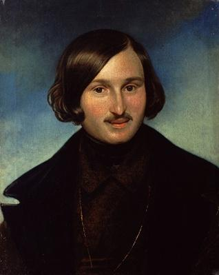 Portrait of Nikolay Gogol, 1841