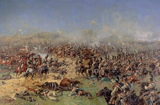 Battle of Borodino on 26th August 1812, 1913