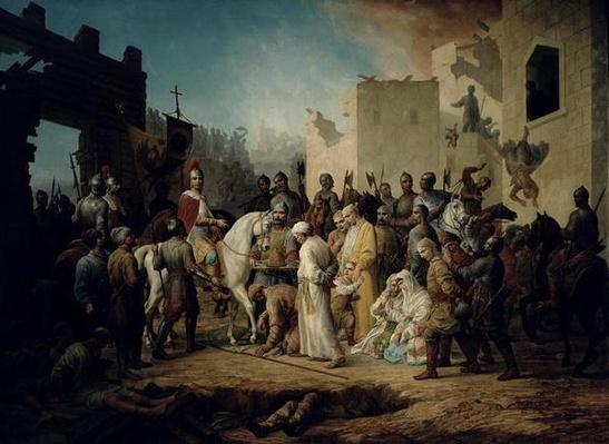 Tsar Ivan IV conquering Kazan in 1552, 1894