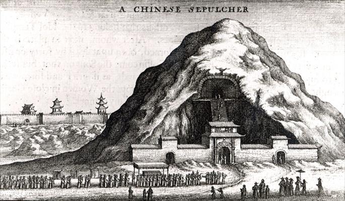 A Chinese Sepulcher, 1669