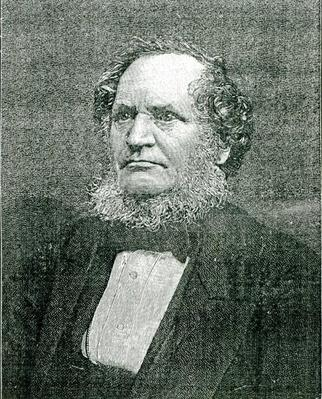 Edward Henry Smith Stanley, Lord Stanley, engraved after a photograph by Samuel A. Walker. c.1865