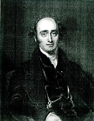 The Rt.Hon.John Wilson Croker,engraved by T.H Parry