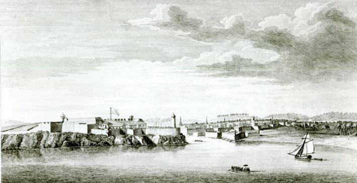 A Prospect of the Moro Castle and City of Havana from the sea