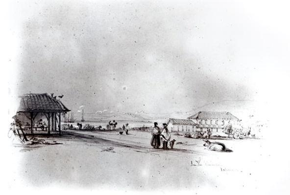 View of Valparaiso, 1834