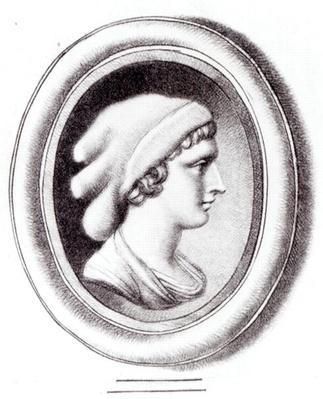 Portrait of Sappho