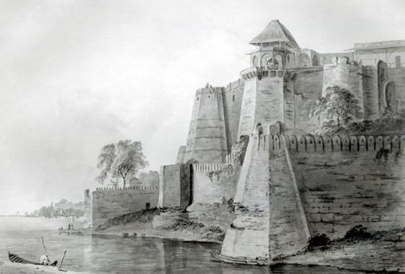 Fort on the Yamuna River, India