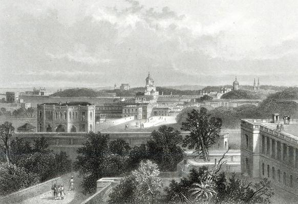 Lucknow, engraved by E.P Brandard, c.1860