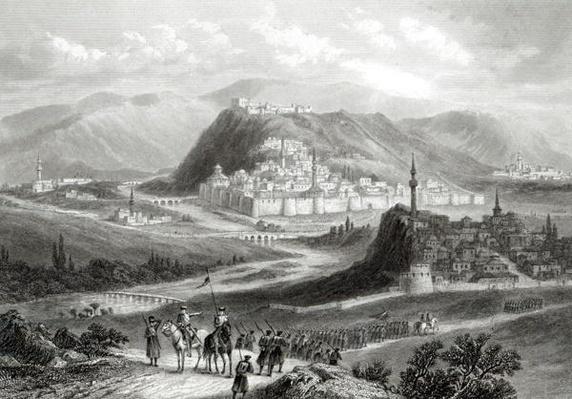 Kars, engraved by J. Godfrey, c.1860