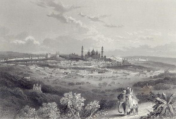 Delhi, engraved by Edward Paxman Brandard