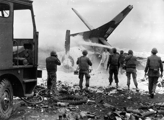 Wrecked US Plane | Vietnam War