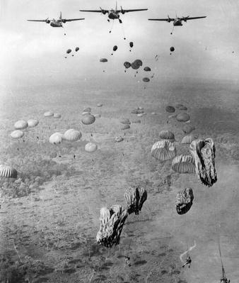 Parachute Drop | Vietnam War