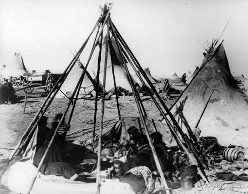 American Camp | Native American Civilizations | U.S. History