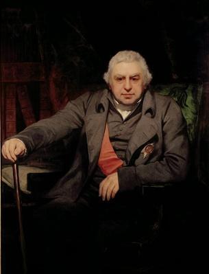 Portrait of Sir Joseph Banks,
