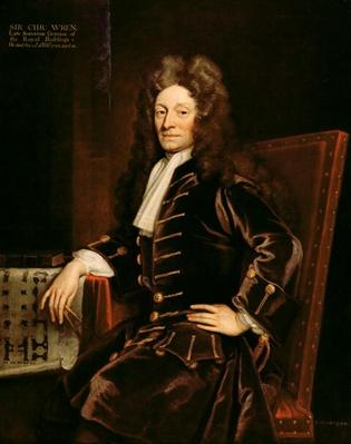 Portrait of Sir Christopher Wren