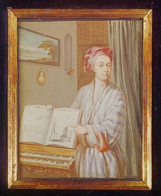 Portrait of Brook Taylor