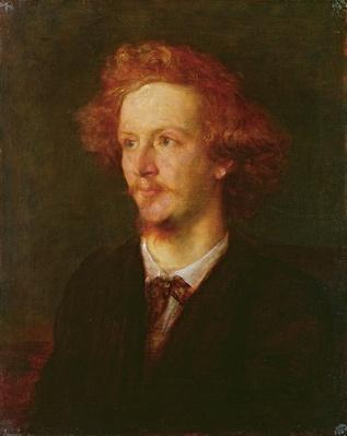 Portrait of Algernon Charles Swinburne
