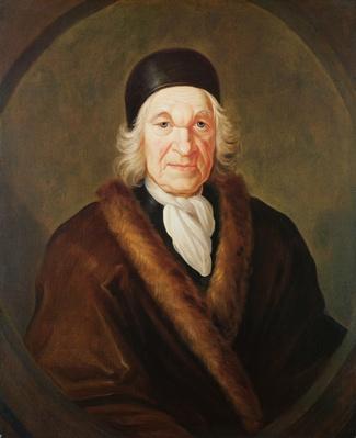 Portrait of Charles de Marquetel de Saint-Evremond
