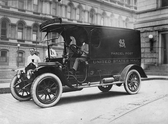 Parcel Post | Evolution of the Automobile