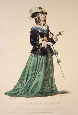 Portrait of Christina Queen of Sweden