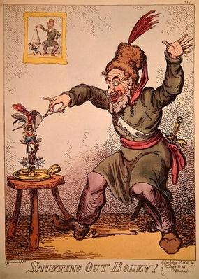 Snuffing out Boney, 1814