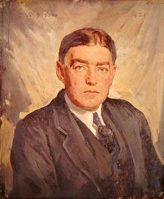 Portrait of Sir Ernest Shackleton