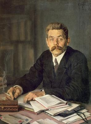 Portrait of the Author Maxim Gorky