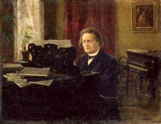 Portrait of Composer Anton Rubinstein