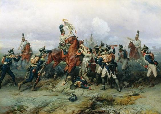 The Exploit of the Mounted Regiment in the Battle of Austerlitz, 1884