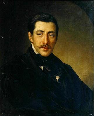 Portrait of the Author Alexander Sukhowo-Kobylin