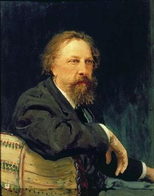 Portrait of the Author Count Alexey K. Tolstoy