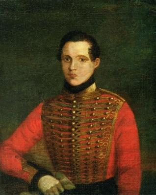 Portrait of the Poet Michail Lermontov, 1830s