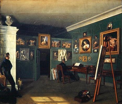 The Painter's Studio, 1830