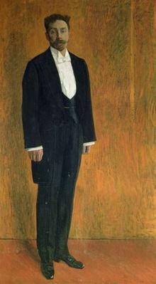 Portrait of Alexander Skryabin
