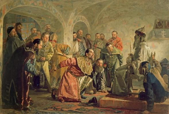 The Oprichnina at the Court of Ivan IV