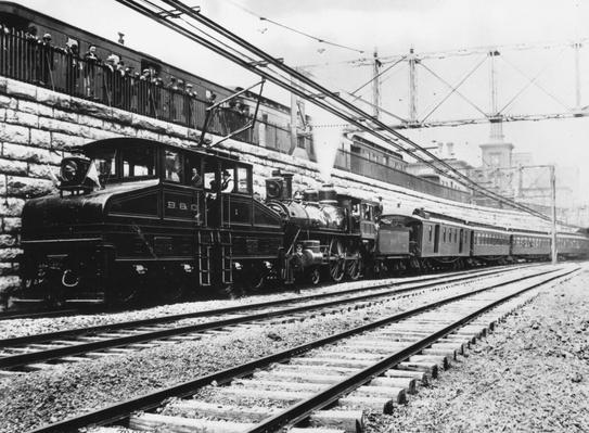 Electric Locomotive | The Gilded Age (1870-1910) | U.S. History