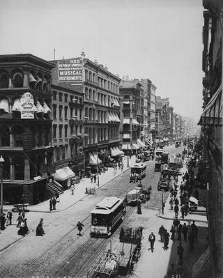 Broadway | The Gilded Age (1870-1910) | U.S. History