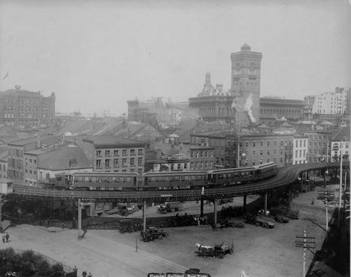 Elevated Railway | The Gilded Age (1870-1910) | U.S. History