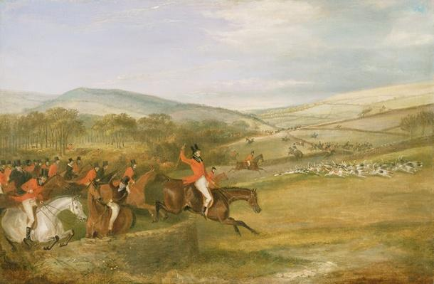 The Berkeley Hunt, Full Cry, 1842