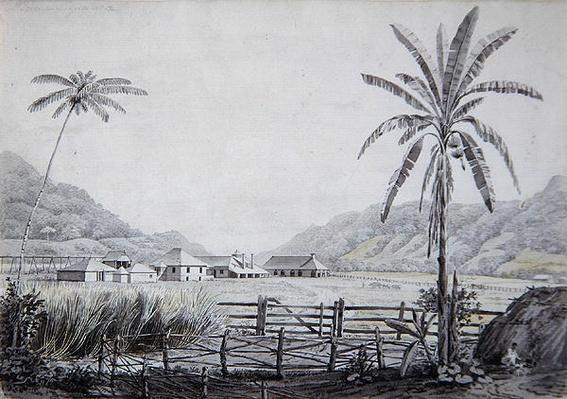 Halse Hall, Jamaica, c.1780