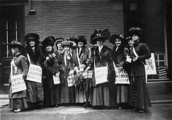 Suffrage Girls | Women's Suffrage | U.S. History