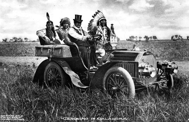 Captive Geronimo | Evolution of the Automobile