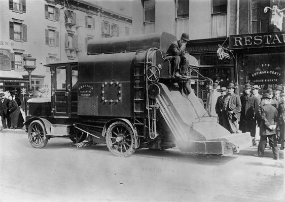 Street Sweeper | The Gilded Age (1870-1910) | U.S. History