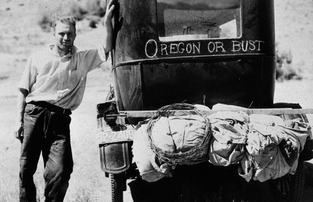 Oregon Or Bust | The Great Depression | U.S. History
