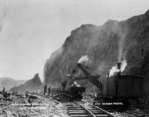 Steam Shovel | The Wild West is Tamed (1870-1910) | U.S. History
