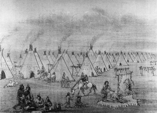 Indian Camp | Native American Civilizations | U.S. History